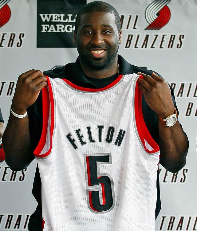 Portland Blazers Worth: Trail Blazers Acquire Jared Jeffries; Send Raymond Felton